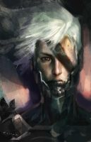 raiden portrait by ELIANT