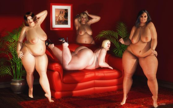 BBW_Red Room Party by Rendermojo