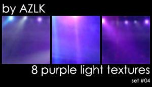 8 purple light textures by Azureluck