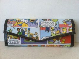 The Simpsons - Duct Tape Wallet by Estabee