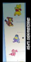 Baby Pooh Bear growth chart. by kittykinetic