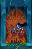 Marceline Takes The Throne by shinakari