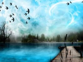 Blue nature by coleriss147