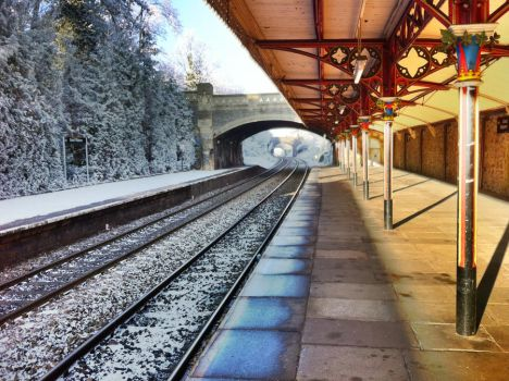 Great Malvern Railway Station by Vignnette