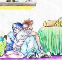 In Hinata's bedroom... by SmilingSnail