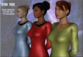 Star Trek: Dress Uniforms III by Anendda-Rysden