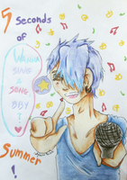.:AT:. 5SOS - Wanna sing a song, bby ? by Calychoco-Meisaki