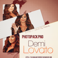 Demi Lovato Png + Photopack by tayloralwaysperfect