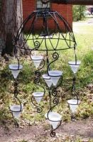 UP-CYCLE Garden Chandlier by NotaSouthernGirl
