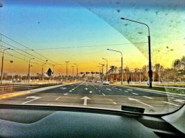 HDR from car by Cheather