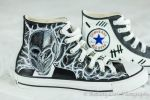 The Silence - Chucks by DesignsByFro
