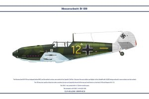 Bf 109 E-1 JG26 1 by WS-Clave