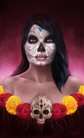 Catrina portrait by RoyalFiend