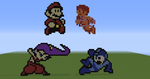 8-Bit Super Smash Bros. by UKD-DAWG