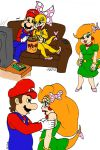 Kootie Pie and Mario by ScourgeYZ