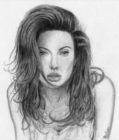 Angelina Jolie by Djarko
