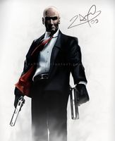 Hitman by aca985