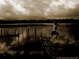 Jumping on the lake by vhive
