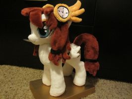 Mlp OC Time pulse pony plush by Little-Broy-Peep