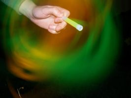 i paint with glow sticks by jordster4000