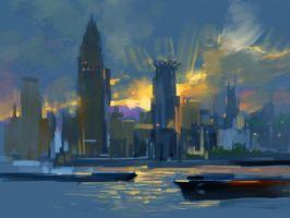 The Bund by zhuzhu