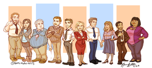 Parks and Recreation by naomi-makes-art73