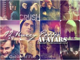 Harry Potter avatars 4 by chouette-e