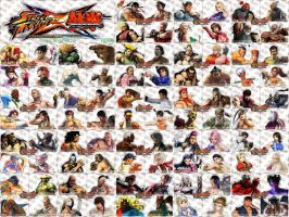 Street Fighter X Tekken by Esenkas