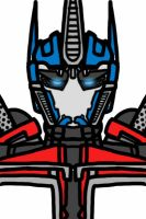 Transformers Prime: Optimus Prime(w/ out facemask) by Mystic2760