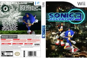 Sonic adventure 3 coverart 2 by Dengen-Toshiko