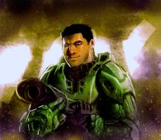 The real master chief by Orathio