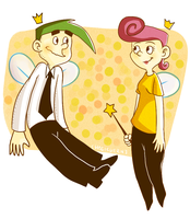 Cosmo and Wanda by Hegichern