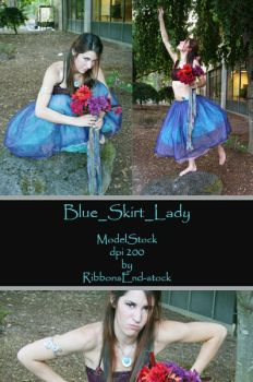 Blue_Skirt_Lady_Stock by RibbonsEnd-Stock
