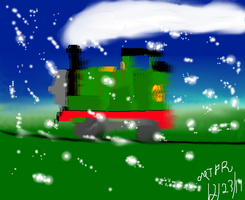 David's Gift - Dashing Through the Snow by Stealthfire231