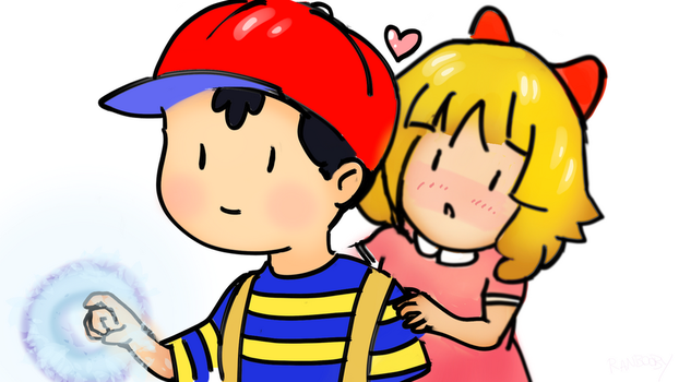 Ness and Pola by Ranbooby