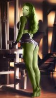 She Hulk 034 by RowannMorrison