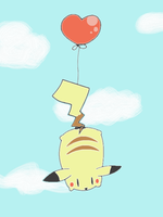 Balloon-chu parade by Ten-Faced