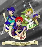 Three Swordsmen by RoroZoro