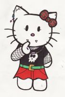 Punk Hello Kitty for Gaia by kettish