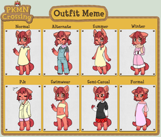 PKMN-Crossing - Outfit Meme by NoyiiArts