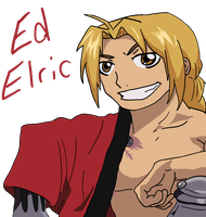 FMA:Ed Elric by Night-Lion