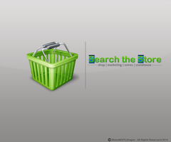 Search the Store Logo by snakeARTWORK