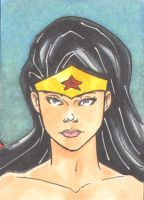 Wonder Woman Sketch Card 2of3 by wheels9696