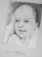 Archie`s first smile (2012) by WendyKimberley