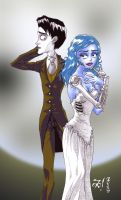 Victor and Emily by affynity
