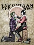 The Gotham Evening Post by smile-xvillainco