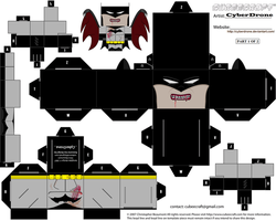 Cubee - Vampire Batman '1of2' by CyberDrone
