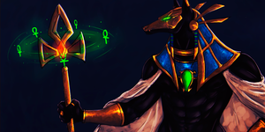 Nasus the Curator of the Sands by Pe-crowd