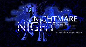 Nightmare night Remix by ConeofWonders