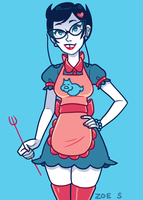 Jane Crocker by ZoeStanleyArts